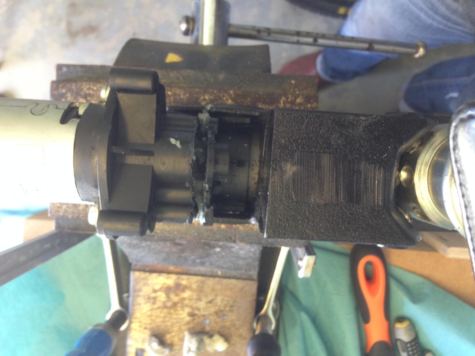 Montering dragkrok bmw e61